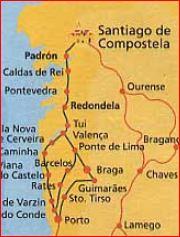 Camino Portugues Karte.Camino Portugues